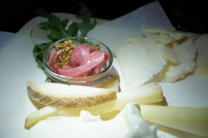 Cheese Plate with Pickled   Onions