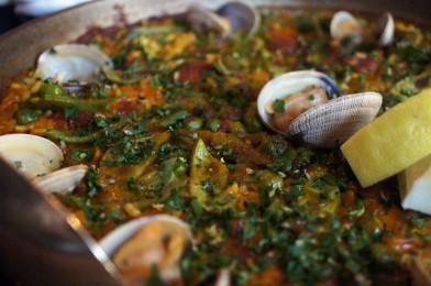 Paella - food of the gods!