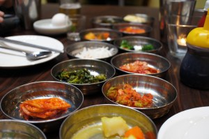 Banchan (plethora of sides)