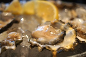 Delectably Briny Oysters