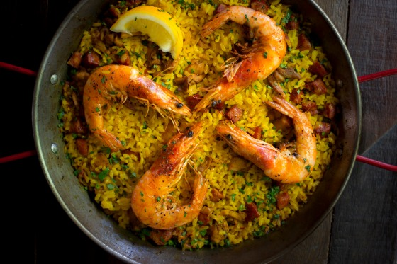 Paella Mixta - photo credit Phi Tran