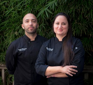 Chefs Sergio Monleon and Emily Sarlatte - photo credit Phi Tran